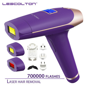 Image 5 - Lescolton 700000 kez 3in1 Depilador bir lazer IPL epilatör epilasyon LCD ekran makine lazer kalıcı Bikini giyotin