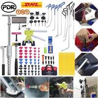 PDR Werkzeuge Ausbeulen ohne Entfernung PDR Push Stangen Dent Puller Lifter Slide Hammer kleber stick Kleber Tabs Reparatur Kit-in Handwerkzeug-Sets aus Werkzeug bei