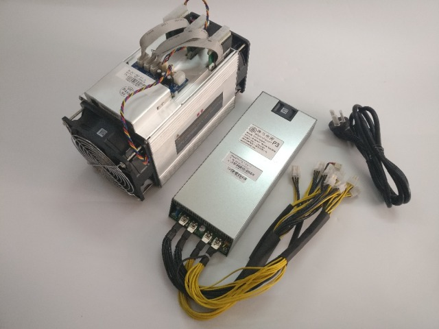 The BTC miner Asic Bitcoin Miner WhatsMiner M3 10.5TH/S (MAX 11.5T/S ) 0.17 kw/TH better than Antminer S7 S9,Include psu