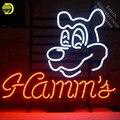 Неоновая вывеска для ресторана ветчины неоновая вывеска неоновые огни знак логотип стеклянная трубка ручной работы знаковая вывеска диспл...