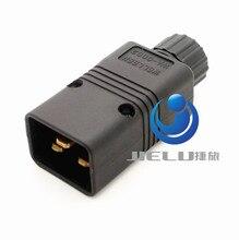 10 шт./партия IEC 320 C20 разъем Мощность AC Мощность Подключите компьютер Мощность Plug 15A 250 В Мощность plug