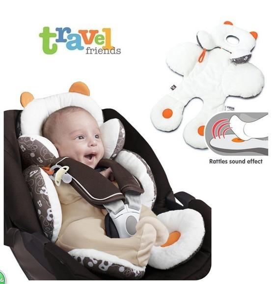 2017 Travesseiro Do Bebê Para Crianças Decoração Almofada De Encosto De Cabeça Para Apoio de Cabeça Do Assento de Carro Travesseiro de Viagem Newborn Kid Sono Carro