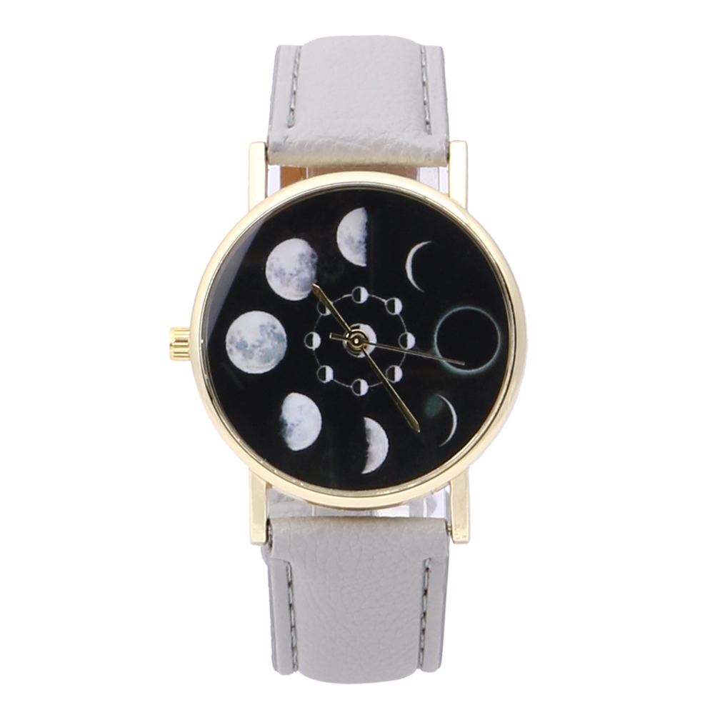 2019 New Brand Solar Watch Women Eclipse Phenomenon horloge Fashion - Dameshorloges - Foto 2
