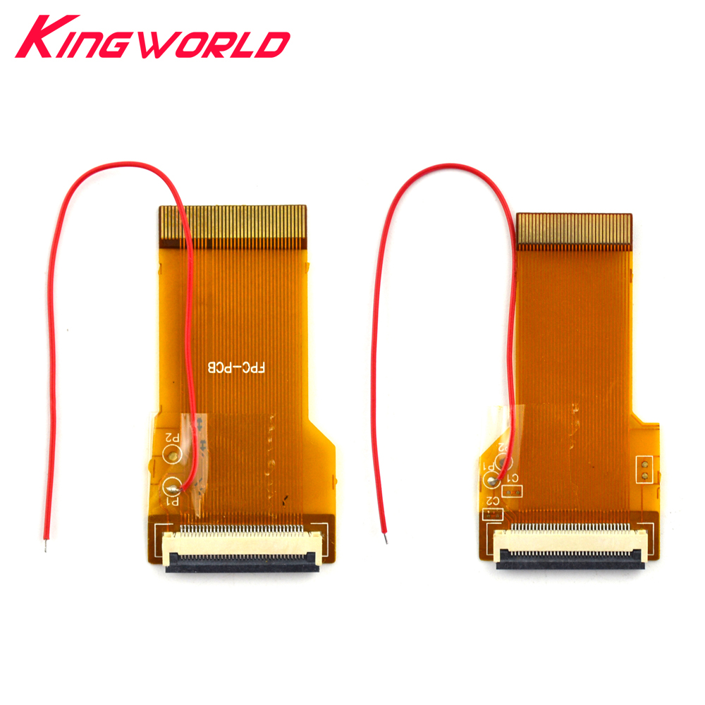 50pcs 2017 NEW For G-ame Boy advance for G-BA Ribbon Cable 32pin 40 Pin <font><b>AGS</b></font> <font><b>101</b></font> Backlit Adapter <font><b>Screen</b></font> <font><b>Mod</b></font> with cable image