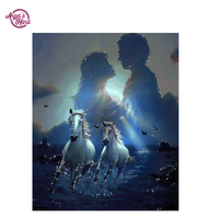 ANGEL S HAND Diamond Embroidery Full Canvas Painting 5d Diy Diamond Painting Diamond Pattern Horse