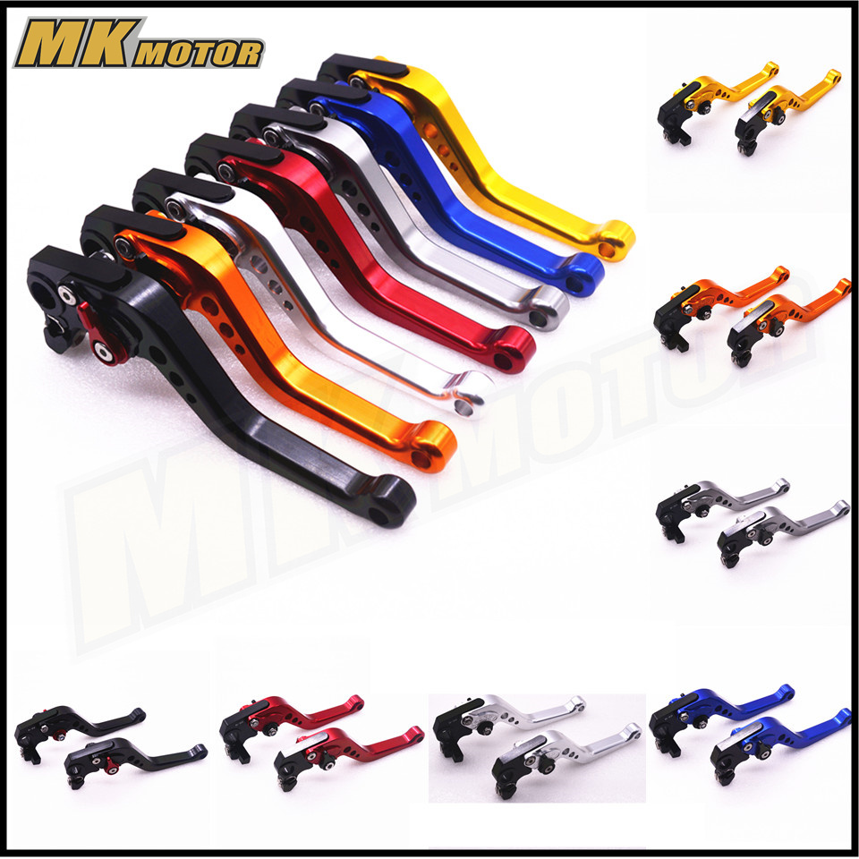 BYSPRINT CNC  Motorcycle part Double Disc Brake Lever Scooter Electric Bike Modification Lever for SUZUKI GSXR600/750/1000 scooter drum brake lever handle electric scooter biker fit most moped motorcycle level brake