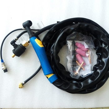 WP17 WP-17 Air Cooled Argon Tig Welding Torch 4M Gas And Cable Seperated цена 2017
