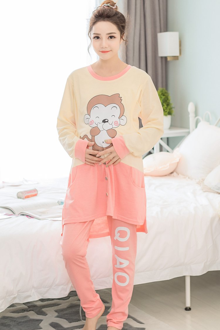 Maternity cotton Nightclothes for Pregnant Women