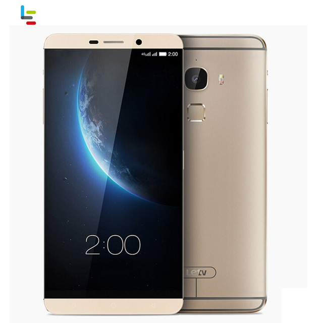 Letv Le Max Smartphone Network 4G Fingerprint Identification 6.33'' Android 5.0 Snapdragon 810 Octa Core RAM 4GB+ ROM 64GB LTE