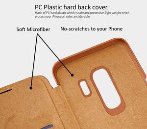 Image 2 - Кожаный чехол книжка Nillkin Qin для Samsung Galaxy S10 Plus S9 Plus Lite