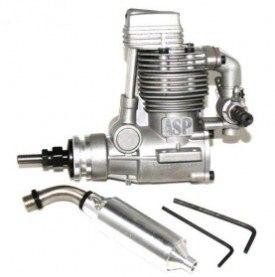 Asp 4 stroke fs52ar nitro engine for rc airplane-in Componenti e accessori da Giocattoli e hobby su  Gruppo 2