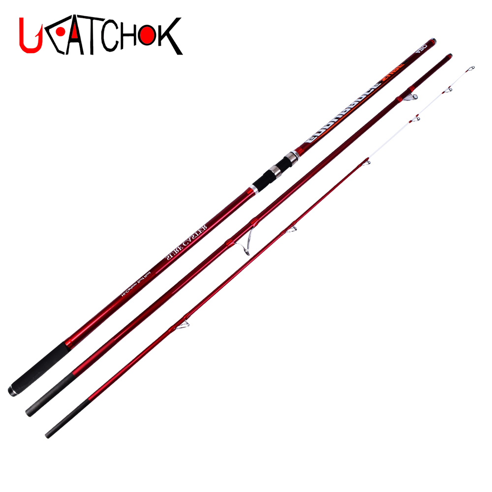 4.2M Max. 350g CW Superhard 40T&30T mixed carbon fiber surf rod long casting carp rod beach rock far shot big game fishing rod цена 2017