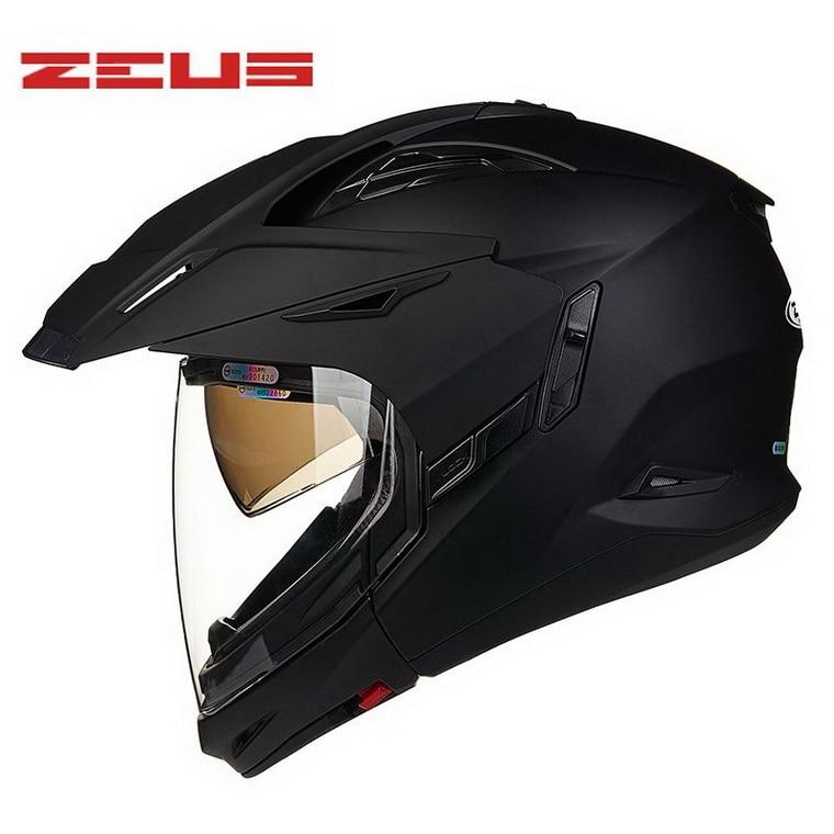 2016 최신 ZEUS 오프로드 오토바이 헬멧 ZS-613B ABS 크기 - 오토바이 액세서리 및 부품