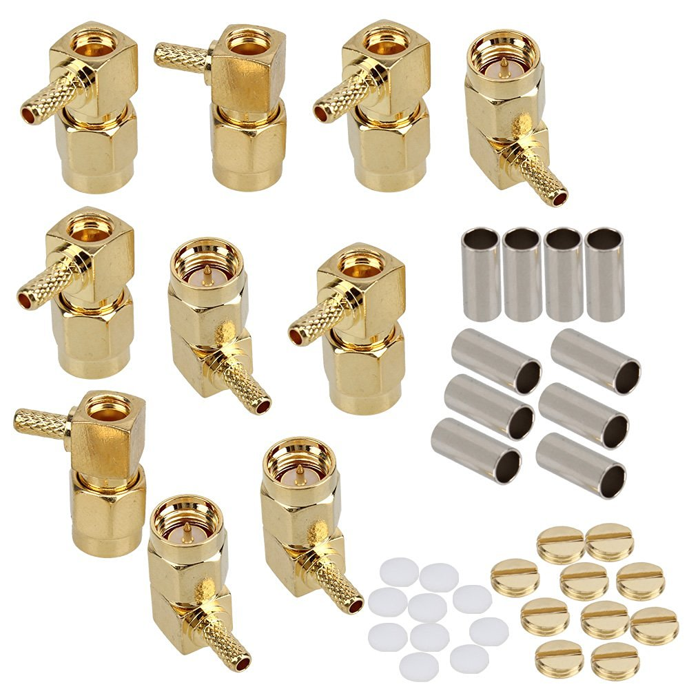SMA Male Plug RF Coax Connector Solder for RG316 Cable Elbow Gold plated Pack Of 30 комбинезон morgan
