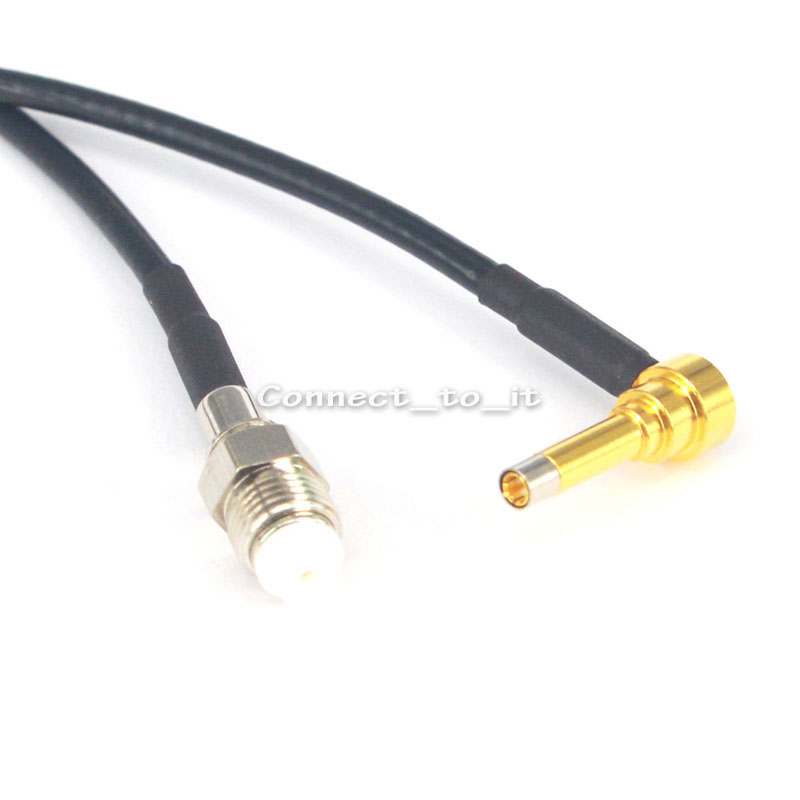 RF Coaxial FME Female to MS156 Male Rightangle Connector USB Modem Adapter Extension Cable 20CM RG174 леггинсы корректирующие belly bandit mother tucker black m 46 48