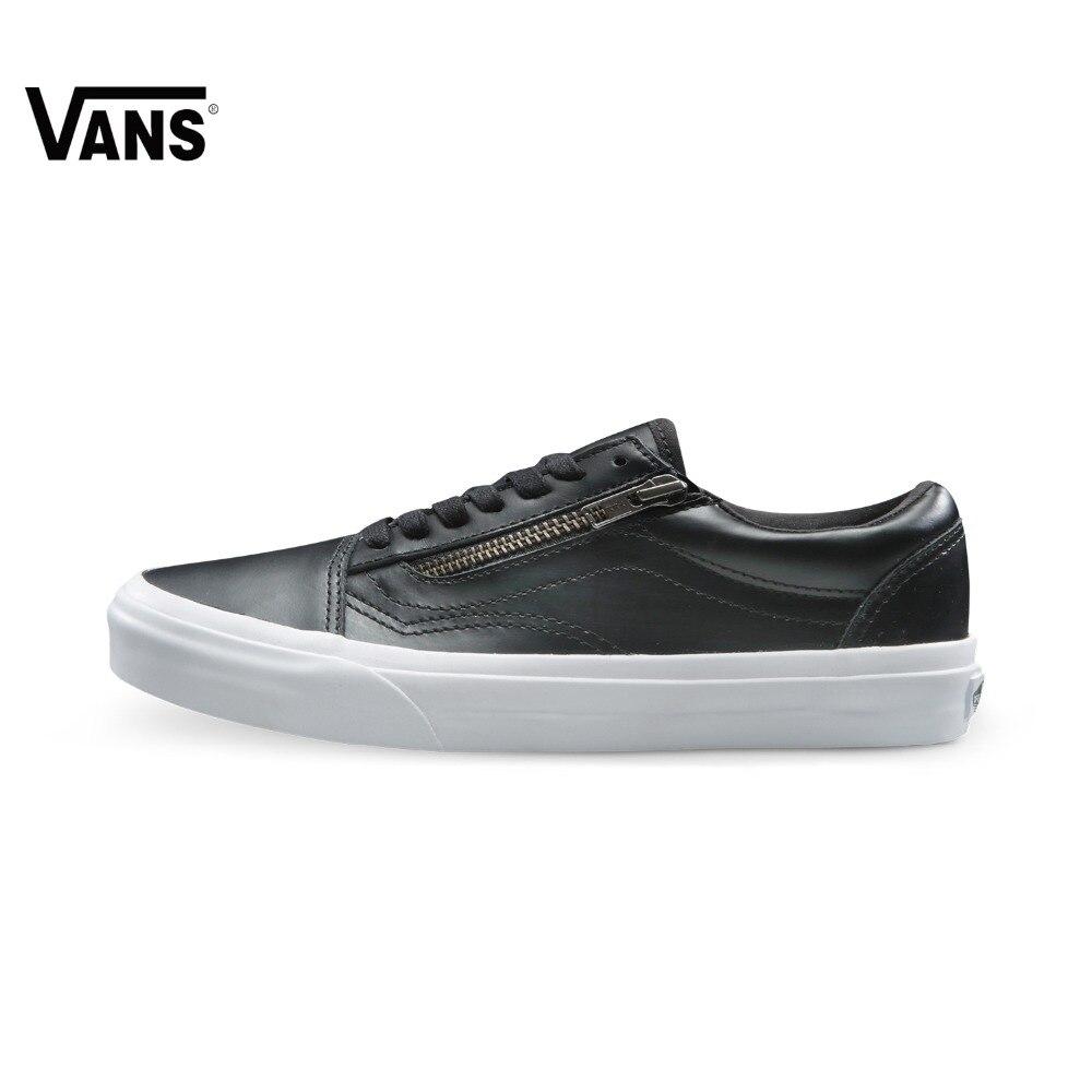 Original Vans Low Era Skateboarding Shoes Mens&Womens Black Color Sneakers Outdoor Sports Comfortable Breathable