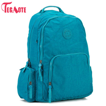 ФОТО tegaote school backpack for teenage girl nylon waterproof women laptop backpacks female casual bagpack rucksack mochila feminina