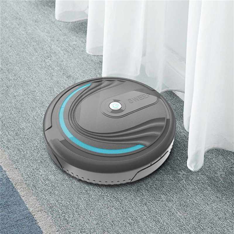 Rechargeable Auto Cleaning Robot Smart Sweeping Robot Floor Dirt Dust Vacuum Cleaner Auto Floor Cleaning Sweeping Sweeper *