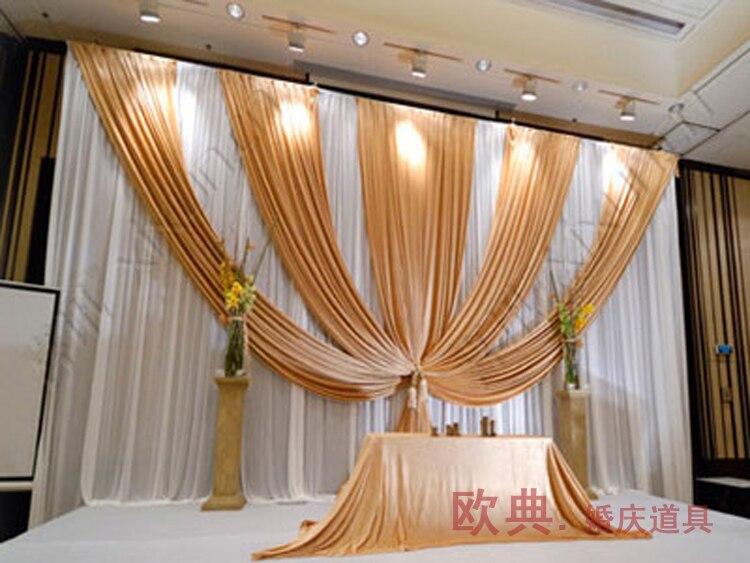 cortinas decoracin de la boda