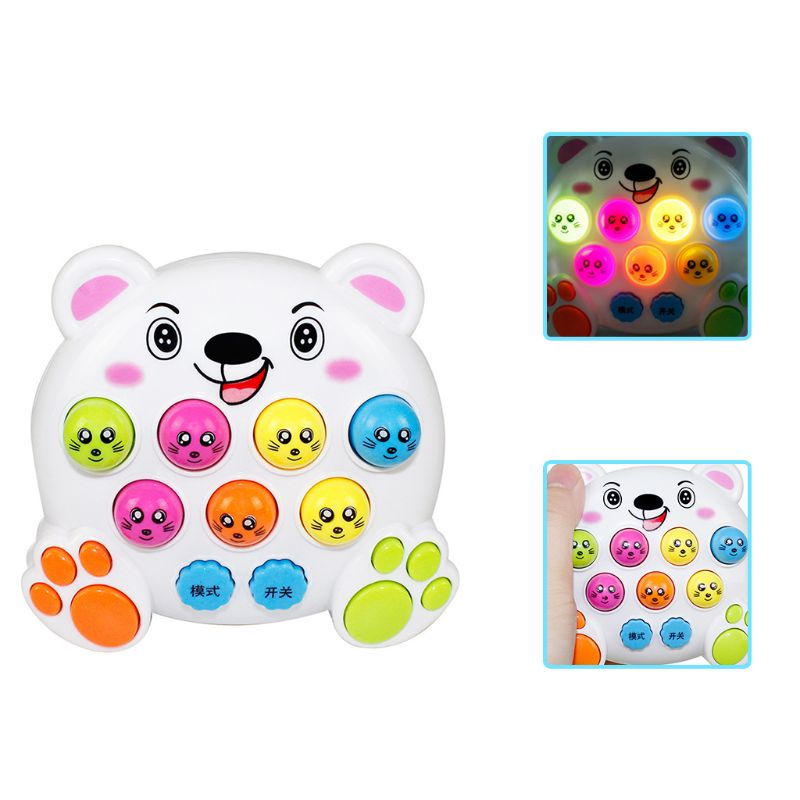 Baby Kids Music Playing Knock Hit Hamster Game Playing Children Instrument Early Educational Toy