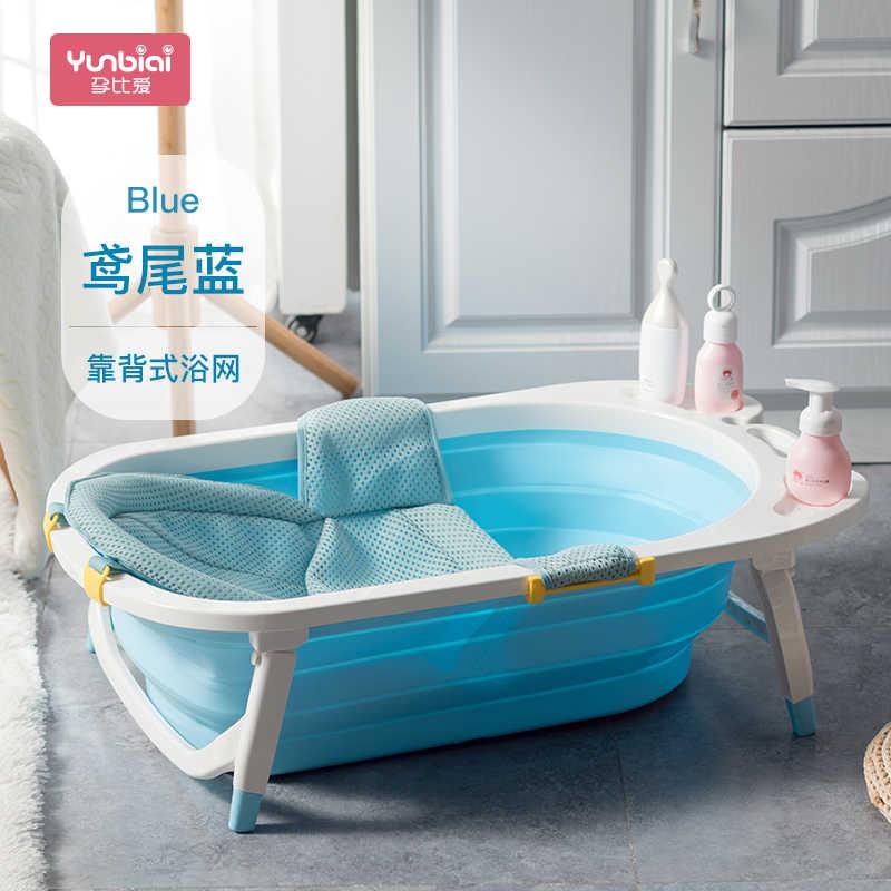 طفل طفل للطي سميكة مع اسفنجة خفيفة المحمولة الطفل أحواض الطفل الأطفال أفضل منتجات حمام دش 2018
