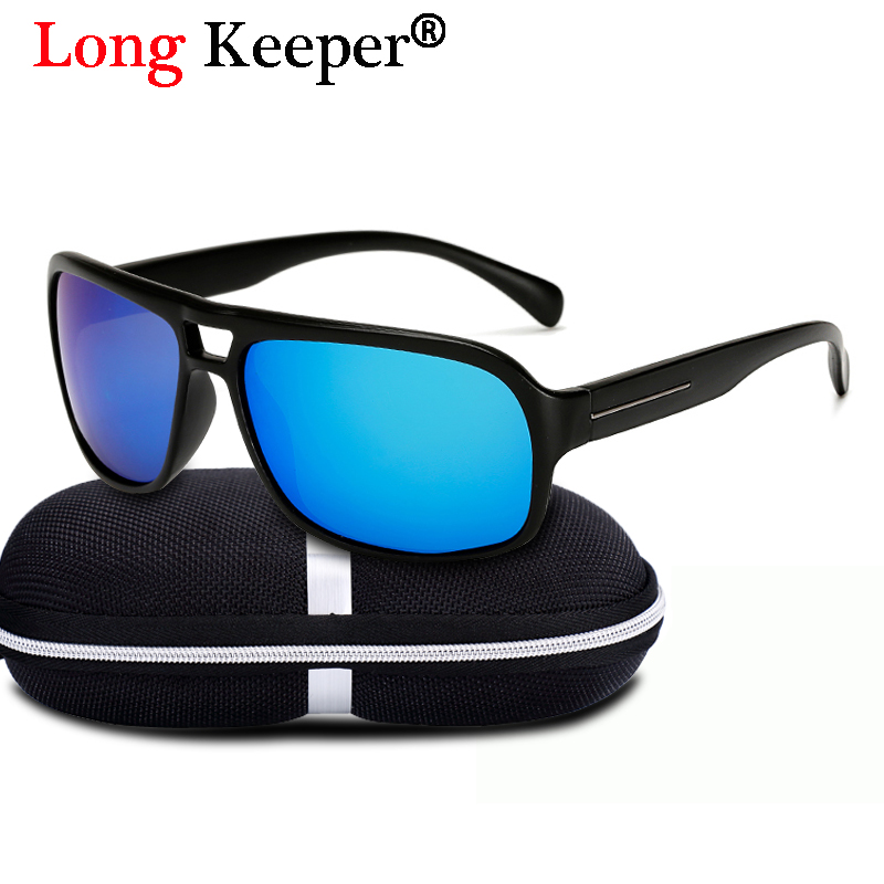 Long Keeper Brand Classic Polarized Sunglasses Men Driving Safety Anti-UV Goggles Eyewears 2018 New Fashion Style With Box
