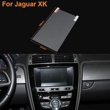 Car Styling 8 Inch GPS Navigation Screen Steel Protective Film For Jaguar XK Control of LCD Screen Car Sticker