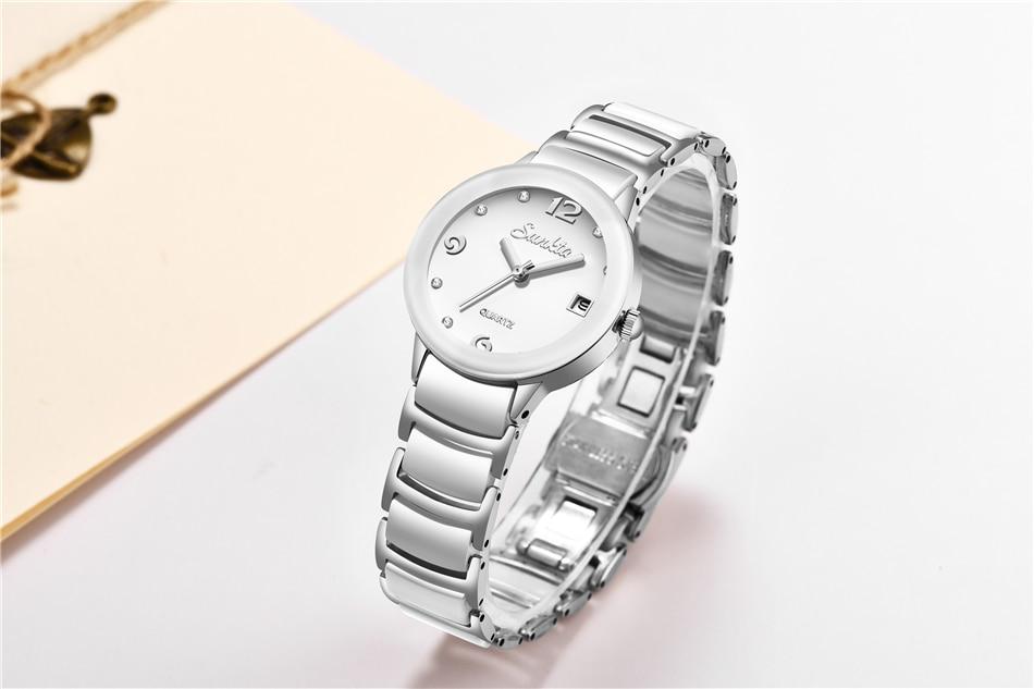senhoras vestido pulseira relógio