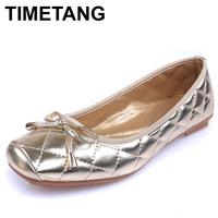 TIMETANG 2018 Famous Designer Women's Casual Shoes Fashion Simply Style Women Flat Shoes Woman Loafers C128