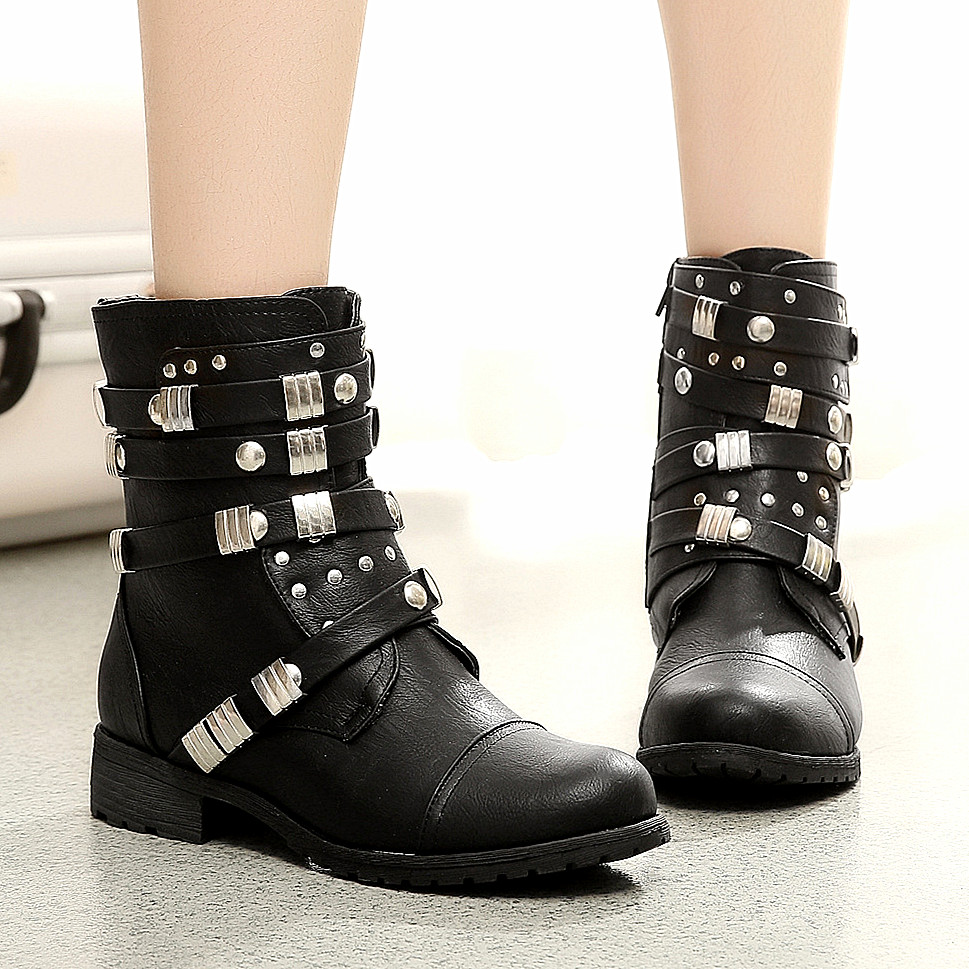 Womens Black Leather Boots 2017 | FP Boots - Part 554