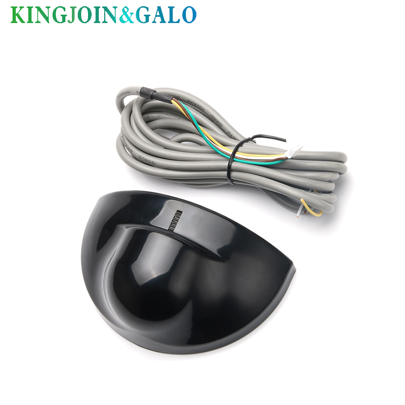 Automatic Gate Door Microwave Motion Sensor Detector Black Silver Color Sliding Swing Door Sensor Auto Opening