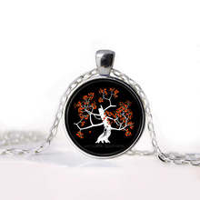 North Remembers Glass Pendant with Necklace