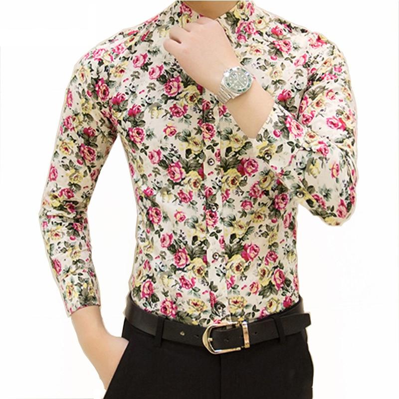Nova pomlad moške priložnostne majice majica z dolgimi rokavi s - Moška oblačila - Fotografija 3