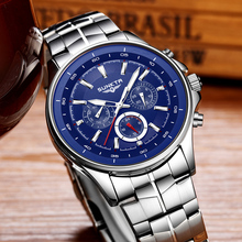 SUNKTA Mens Watches Luxury Brand Military Sport Quartz Watch Men Fashion Waterproof Stainless Steel Wrist Watch Relojes Hombre
