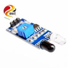 Official DOIT IR Infrared Obstacle Avoidance Sensor Module for Arduino Smart Car Robot 3-wire Reflective Photoelectric New