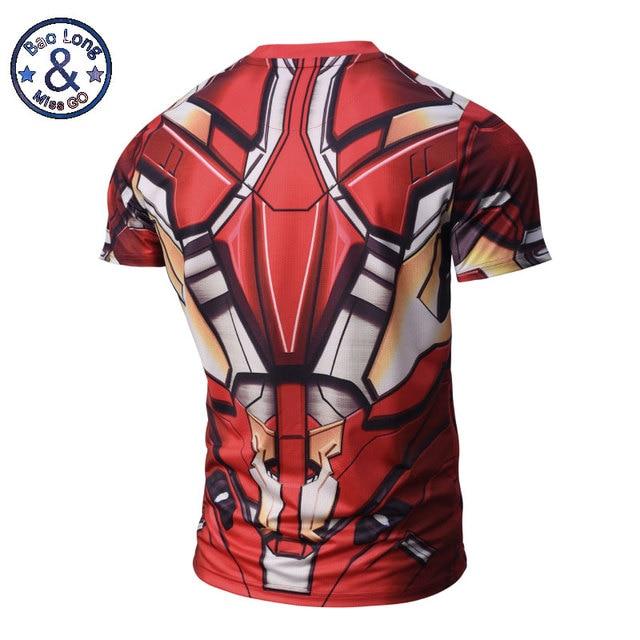 Captain America Tight Shirt 3D Printed T-Shirts