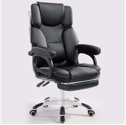 Ordinateur de bureau à domicile de massage inclinable patron ascenseur tour pied reste siège chaise swive offre spéciale Livraison gratuite
