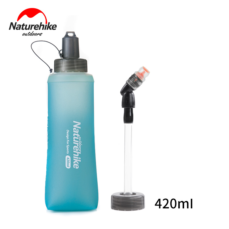 Water Bottle Collapsible Hydrate Folding Sports Hiking Trekking Traveling Drink