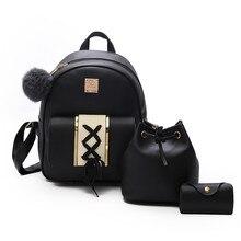 Plecaczek, mini torebka i organizer na karty STELLA