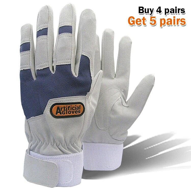 Work gloves gardening glove new design microfiber gloves