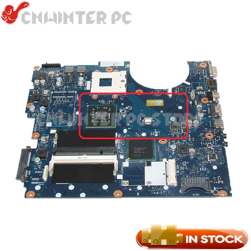 NOKOTION MAIN BOARD For Samsung NP-R522 R520 Laptop Motherboard Socket 478 DDR2 Free CPU BA92-05711A BA92-05711B nokotion ba92 05907b ba92 05907a notebook pc motherboard for samsung r505 main board sockets1 ddr2 ati free cpu