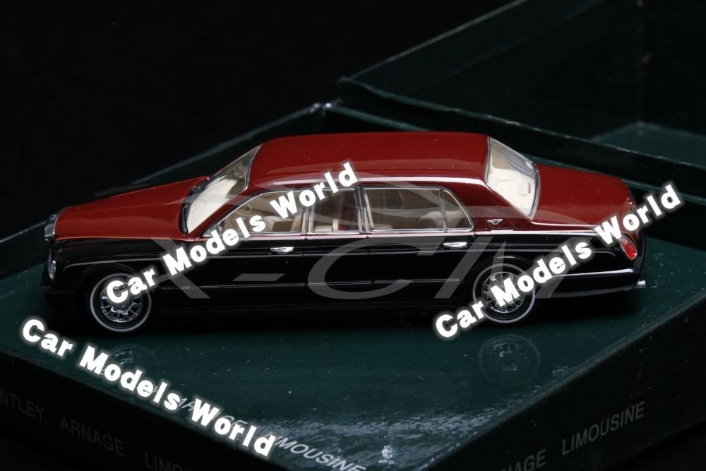 Red Diecast Car Model Bentley Arnage Limousine 1:43 GIFT!!