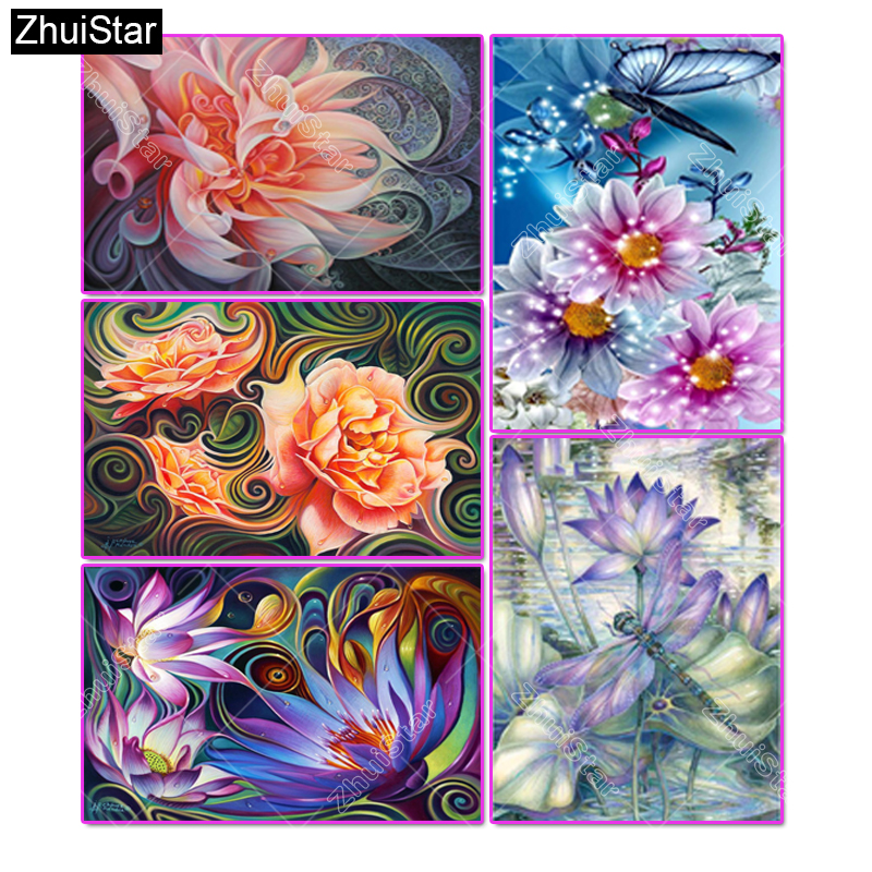 Home Decor Painting & Calligraphy 40*50cm 5d Rhinestone Painting Unicorn Pattern Bright Full Mosaic Rhinestone Picture Diy Home Decoration Cross Stich Painting