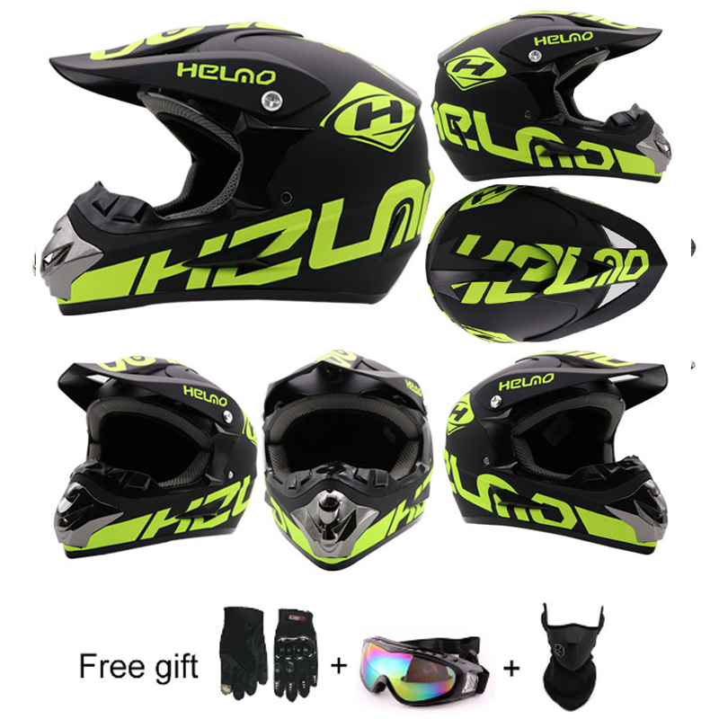 Motorcycle Helmet ATV Dirt Bike Downhill MTB DH Racing Helmet Cross Helmet Capacetes Motorcycle Adult Motocross Off Road Helmet