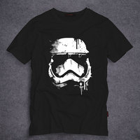 Star Wars Stormtrooper T Shirts Men Short Sleeve O Neck Top Tees Short Sleeve 100 Cotton