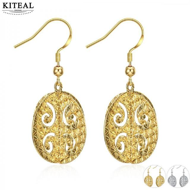 Kiteal Fashion Jewellery Charms Gold Color Yellow White Earring Jewelry Earings Bone