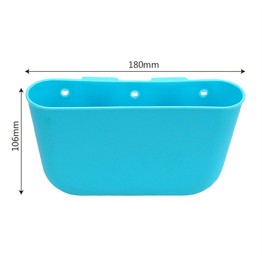 Blue Color Car Storage Box Organizer Accessories