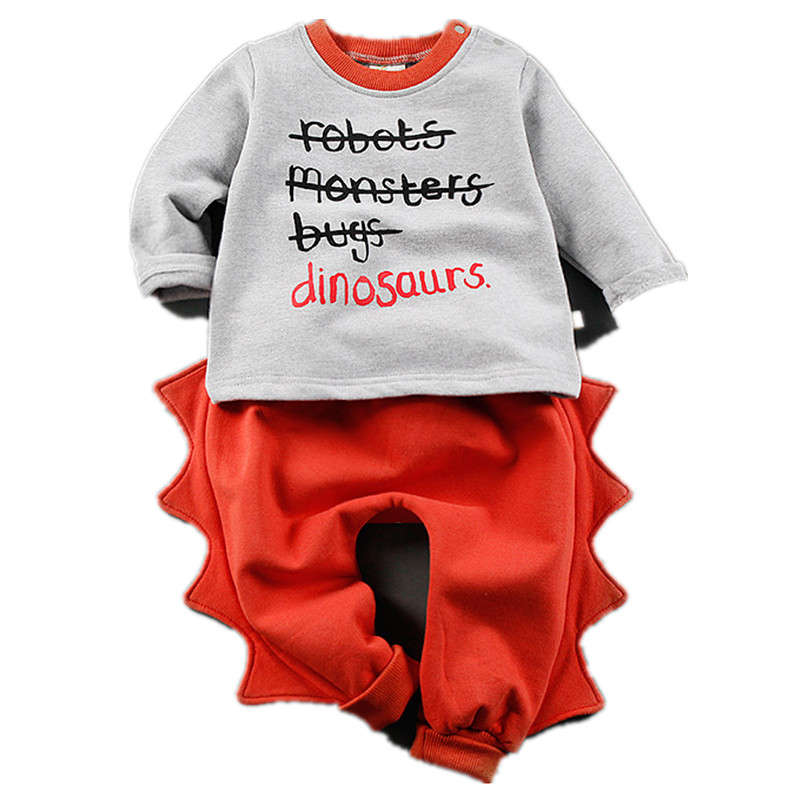Funny Animal Baby Rompers Dinosaur Costumes Clothing Set For Boys Girls Toddler Clothes Halloween Cos-play