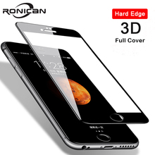 3D 9H 강화 유리 아이폰 8 7 6 6s 플러스 5 5s SE 5C 화면 보호기 아이폰 X XS 최대 XR 11 프로 최대 프리미엄 보호