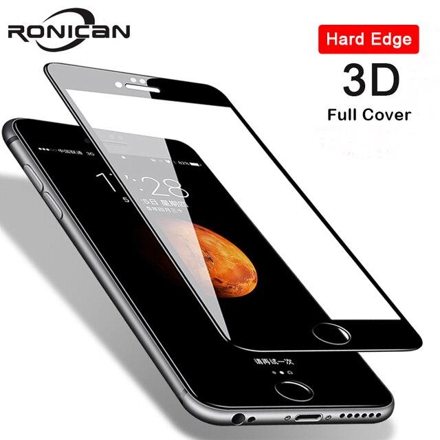 3D 9H temperli cam iPhone 8 7 6 6s artı 5 5s SE 5C ekran koruyucu iPhone X XS Max XR 11 Pro Max Premium koruyucu